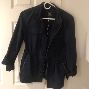 Gap blue jacket. Perfect for fall and spring.